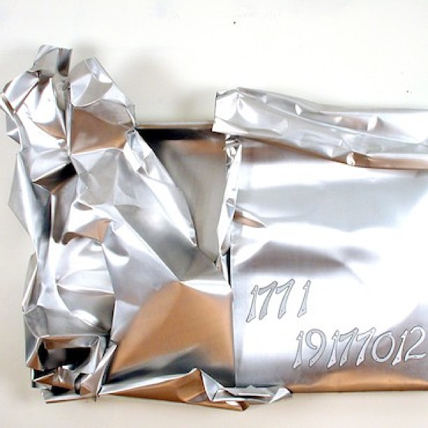 177 1  14 177 0 12 #tbt  Mi Amor :aluminum wall sculpture #marsartist