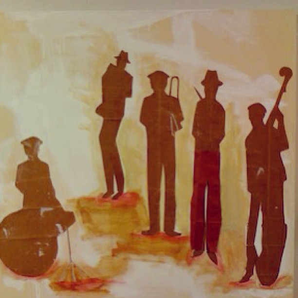 New Orleans Jazz #tbt #marsartist  Donated this painting to help rebuild New Orleans 2008