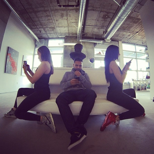 Instagram Addiction x3 @aubrymarie & @rswdsd Dante of  Rosewood {Amor Dunks, Jordan Retro 5s}