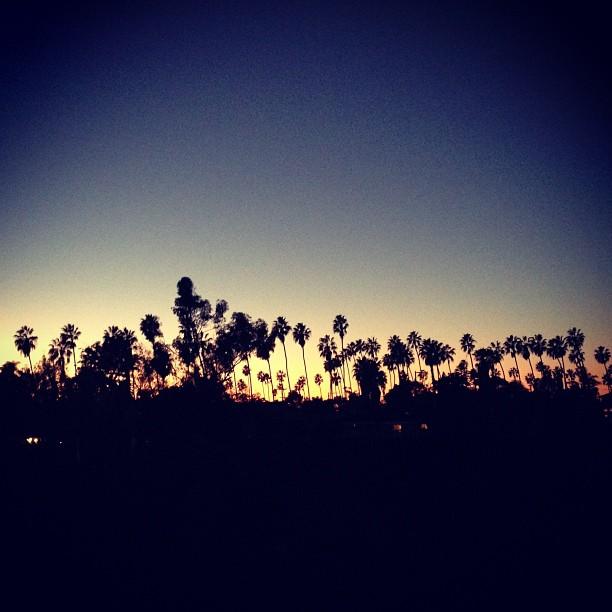 sunset on 12-20-12