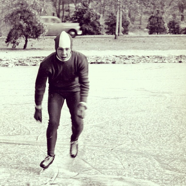 My Papa, United States National Speedskating Champion