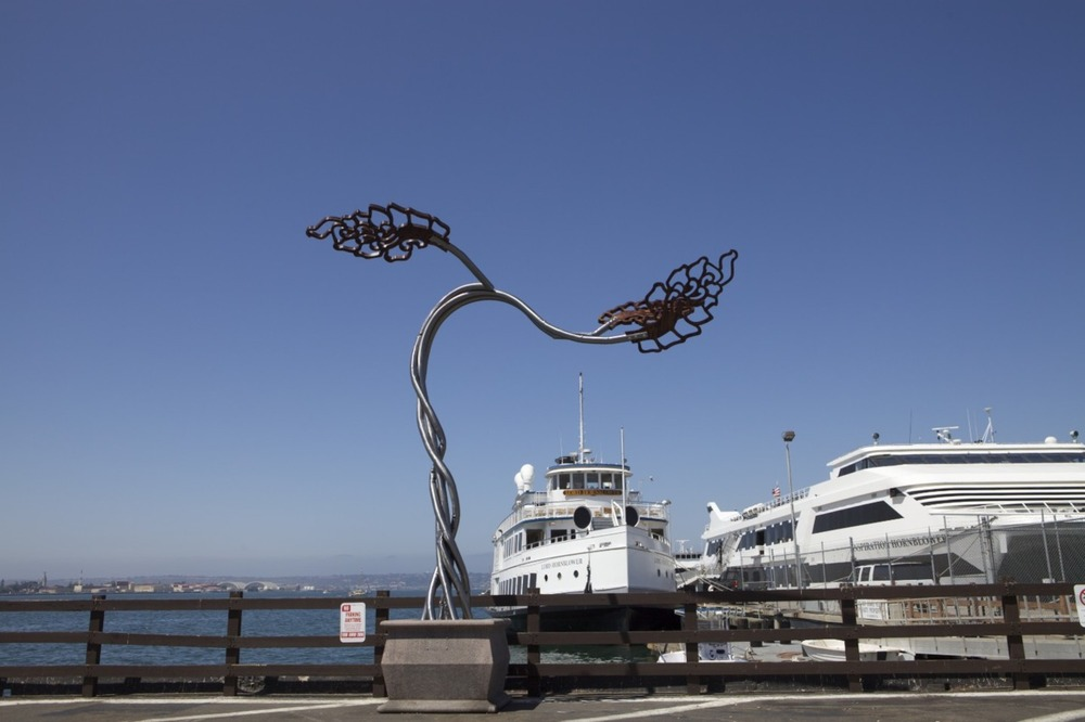 """Elysium"" part of the Urban Tree Project 2009, planted at the Port of San Diego"