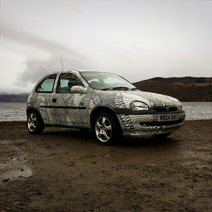Transart Car Painting
