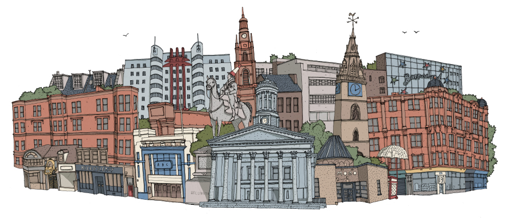 Glasgow Illustration