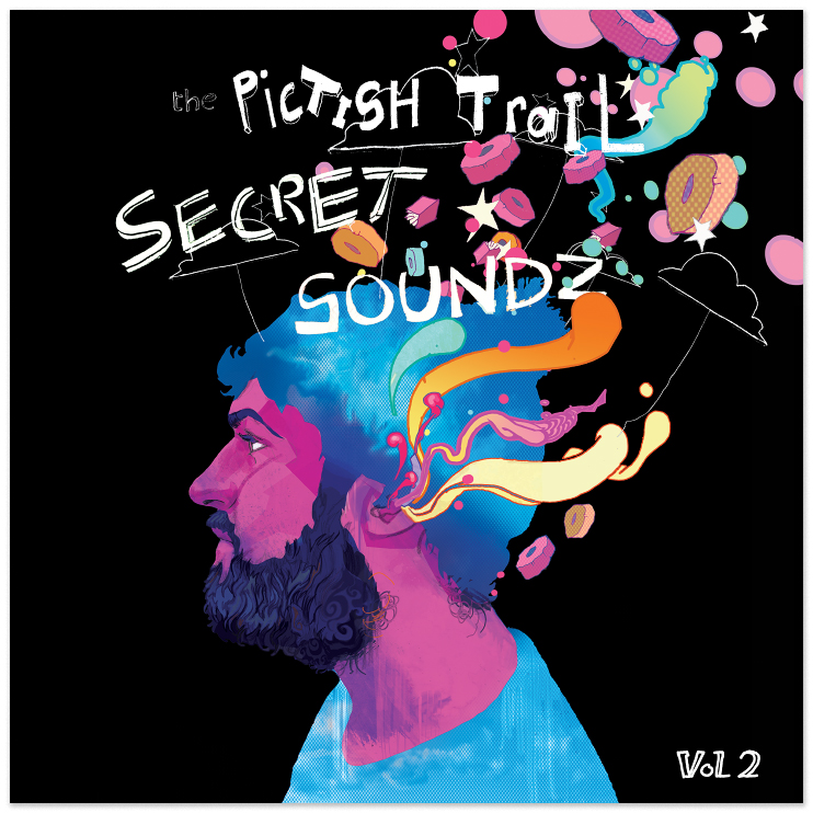 Pictish Trail: Secret Soundz vol. 2 Artwork by Christian Ward.