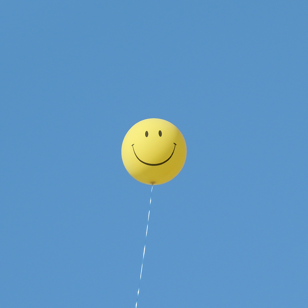 Smiley Balloon photograph by David Galletly