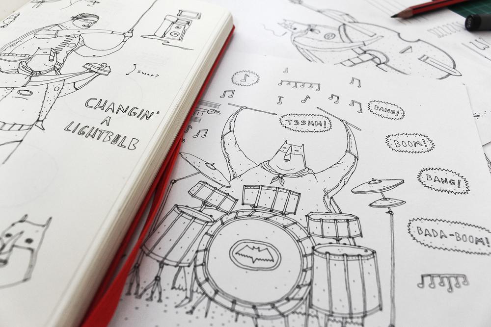 batman-sketches