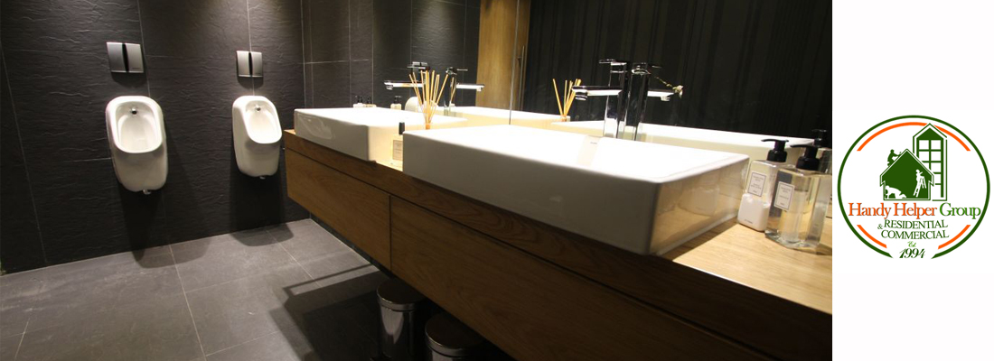 Commercial Restrooms Handy Helper Group - Commercial bathroom renovations