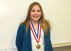 SMS-Kara Lehnert Spelling Bee 2013 020113.JPG