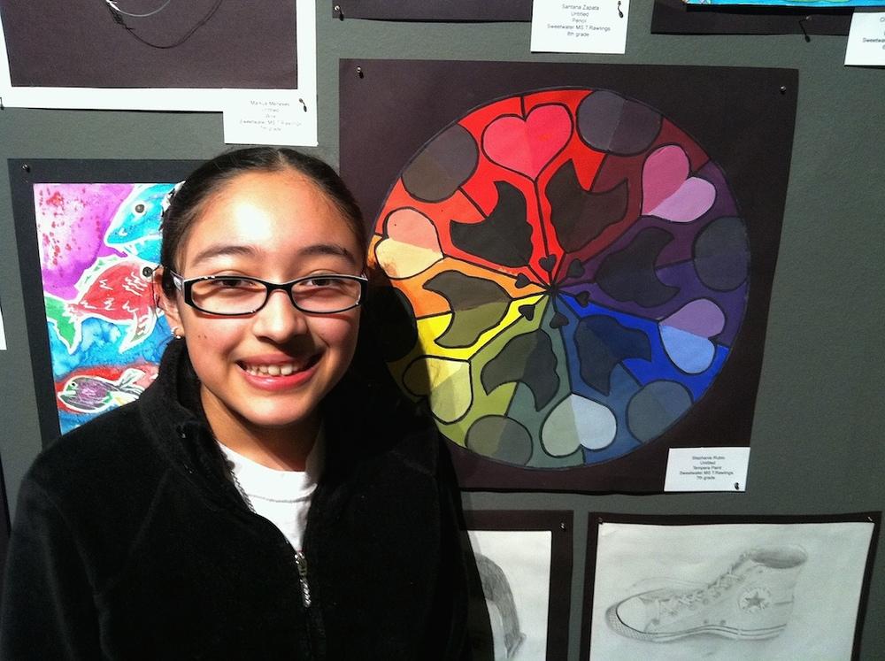 SMS Art Student Stephanie Rubio