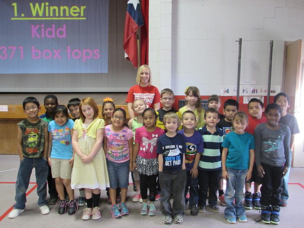 Mrs. Kidd's 1st Grade Class
