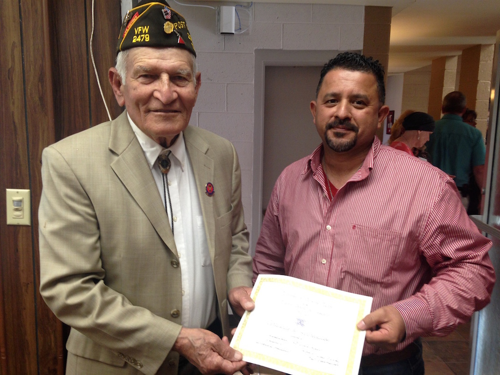 Local vfw post presents certificate of appreciation to sisd board of local vfw post presents certificate of appreciation to sisd board of trustees yelopaper Choice Image