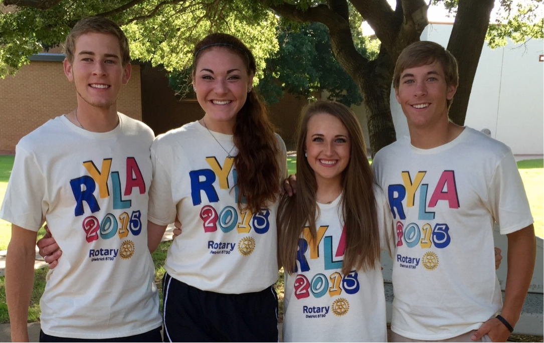 Sweetwater Rotary Club Sponsors Shs Students In Ryla Leadership Camp