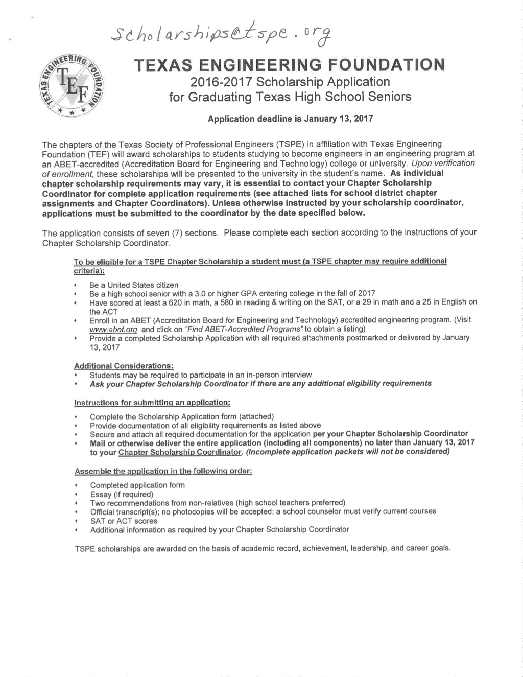 Scholarships Sweetwater Isd
