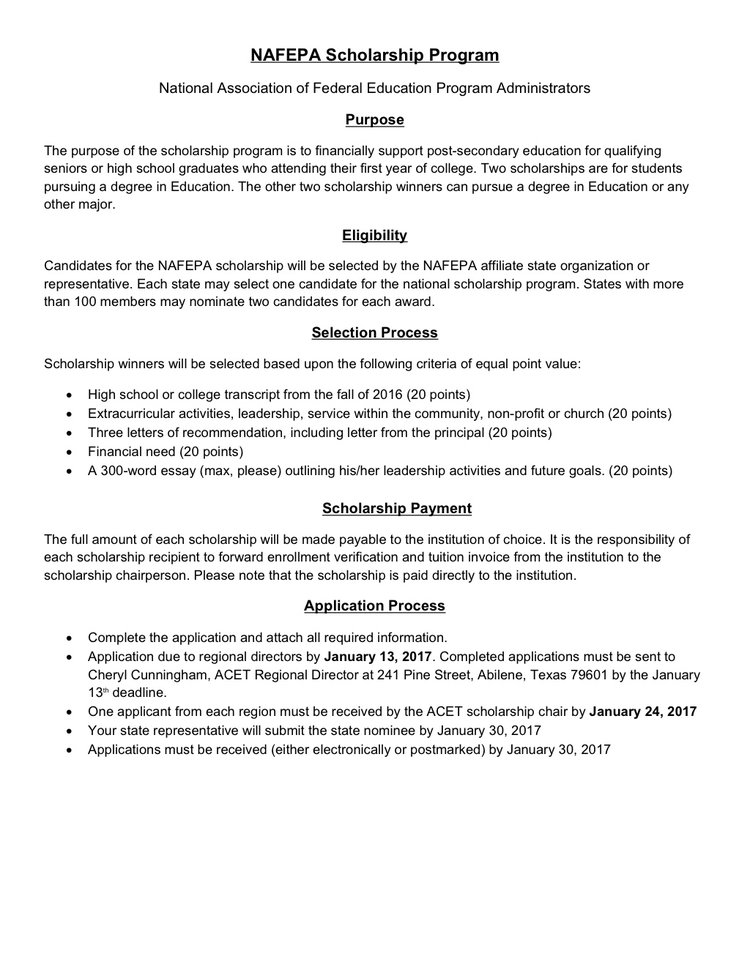 Essays Scholarships. Scholarship Resume Cover Letter Scholarship