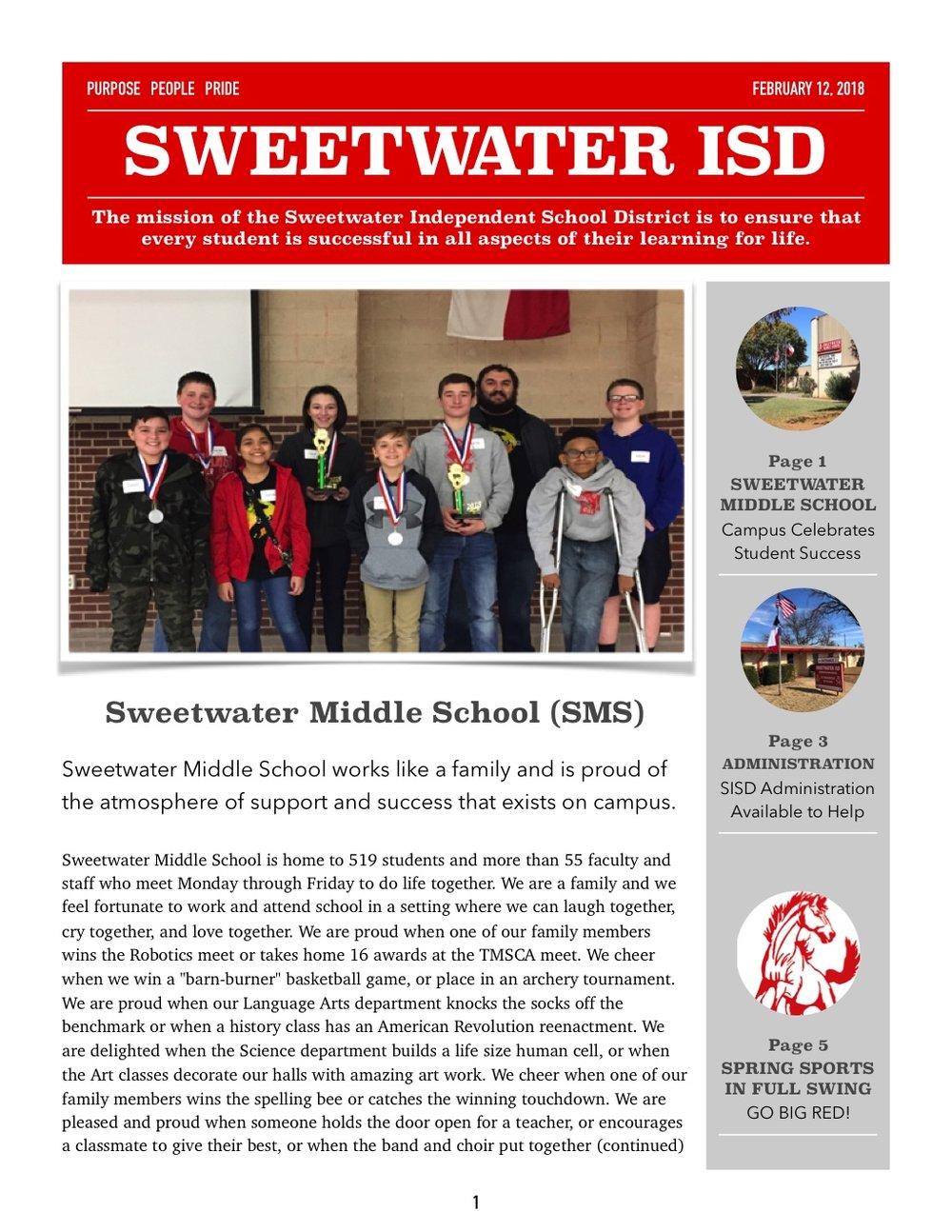 Sweetwater ISD Newsletter February 2018-1.jpg