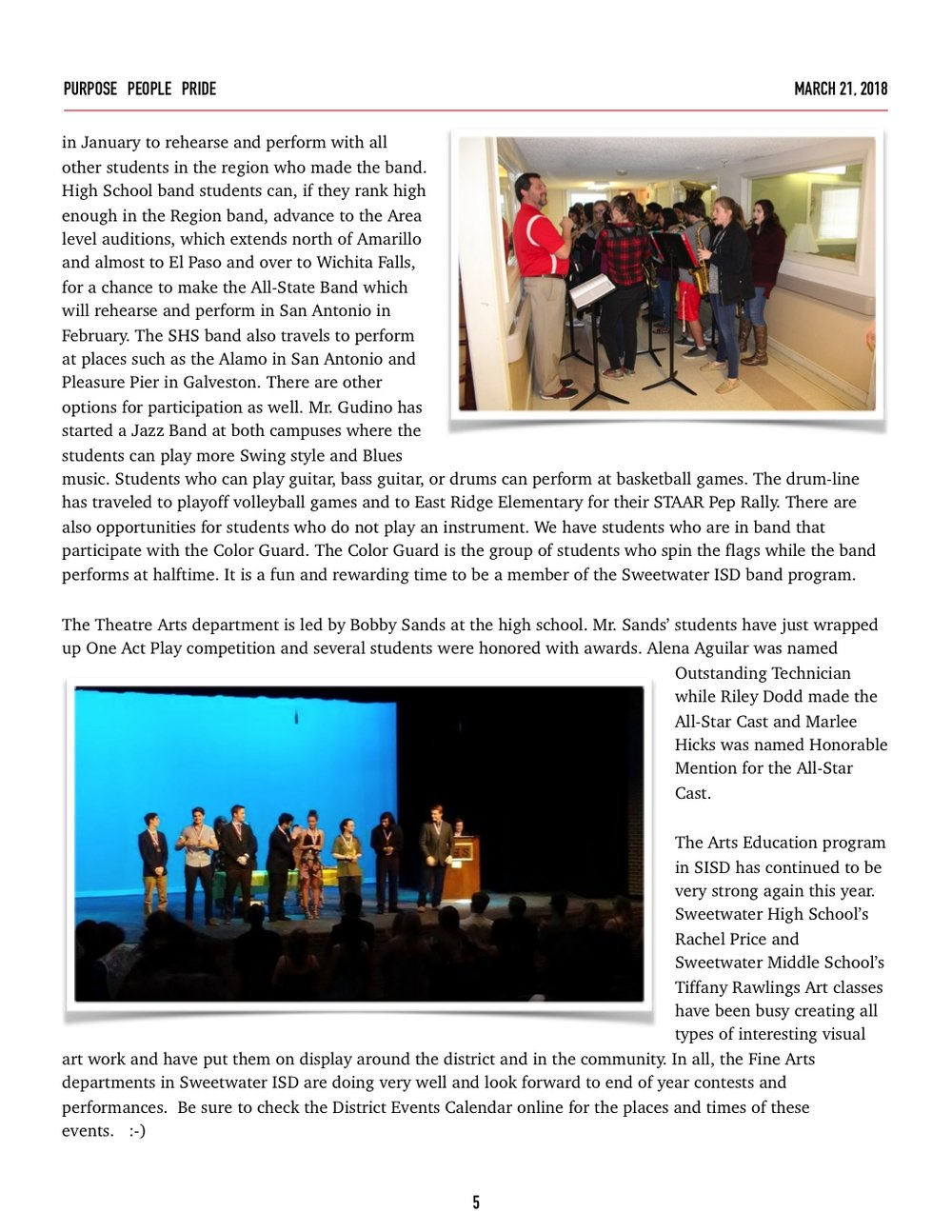 March 2018 Newsletter Page 5 Image
