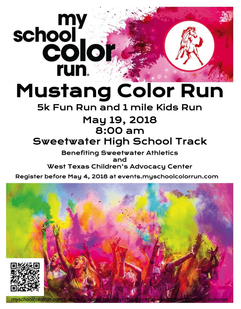2018 Mustang Color Run Info Image
