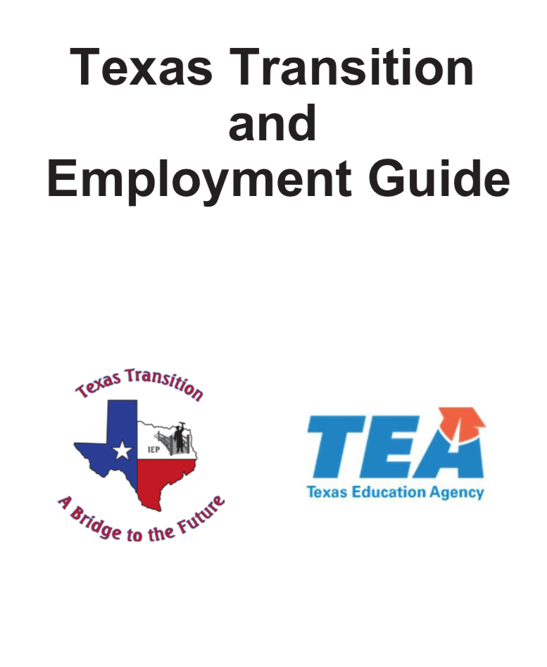 Link to Texas Transition and Employment Guide PDF