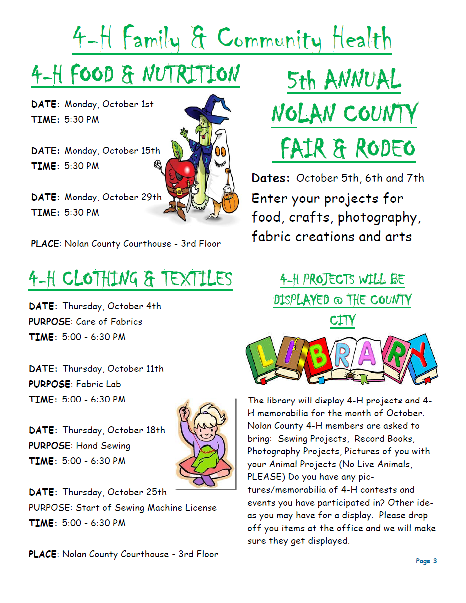 Nolan County 4-H Newsletter October 2018 P3.png