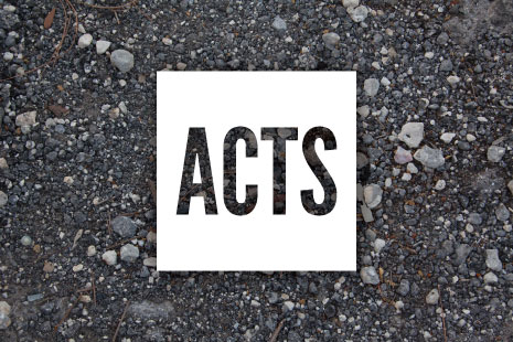 The Book of Acts - Pastor Matteson