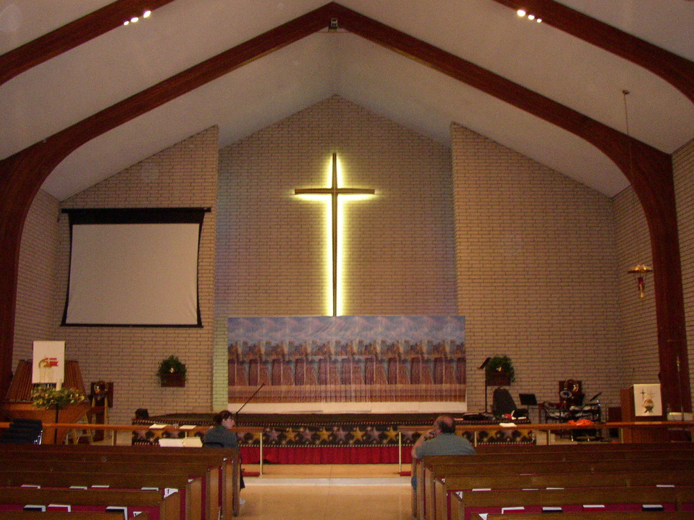 full altar before install.JPG