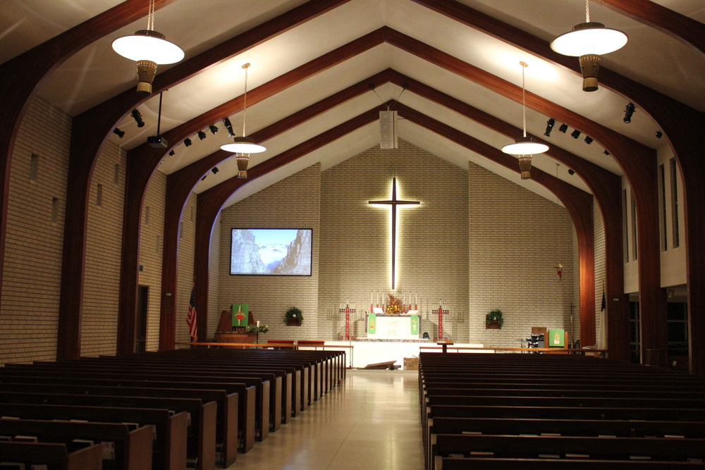 full altar with video .JPG