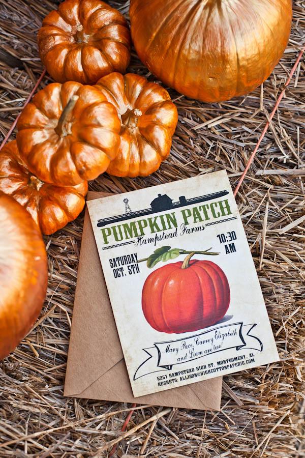 Coming Soon: Vintage Pumpkin Patch