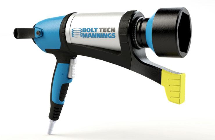 Bolttech Mannings Pneumatic Wrench