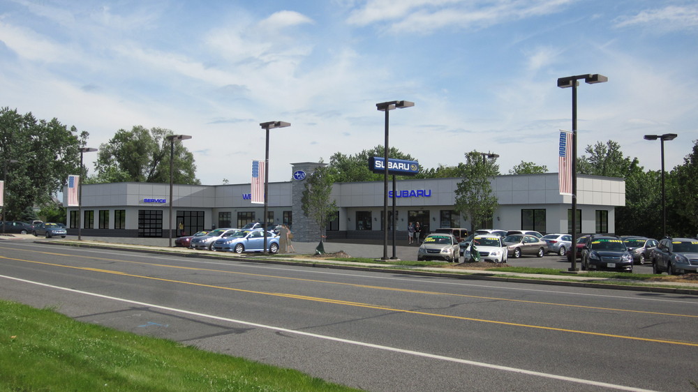 Proposed Dealership Renovation