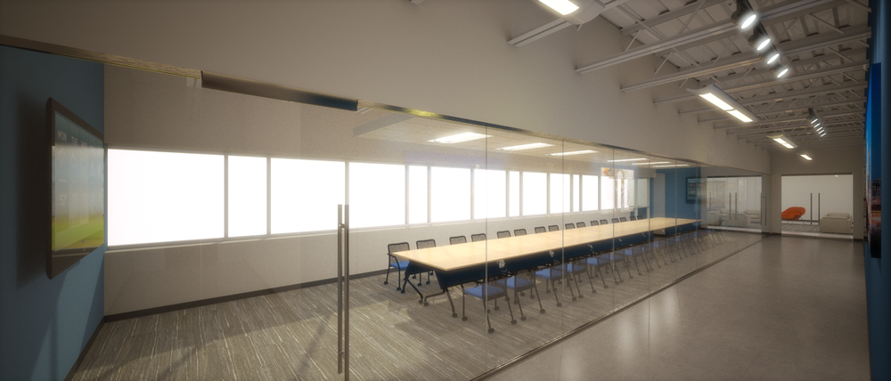 Conference Room for Tenant Fit-Out Study