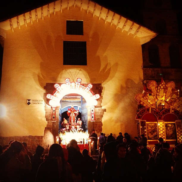 danicoronaphotography: Random festival in San Blas. #Cusco #nightsights