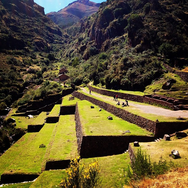 danicoronaphotography: Ruins in Peru! #terraces for ancient agriculture.