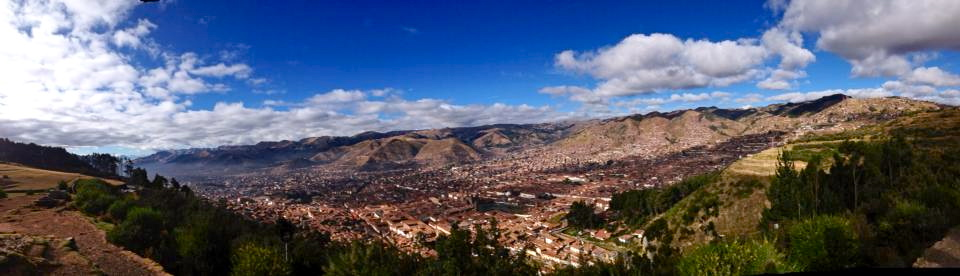 Cusco panorama.