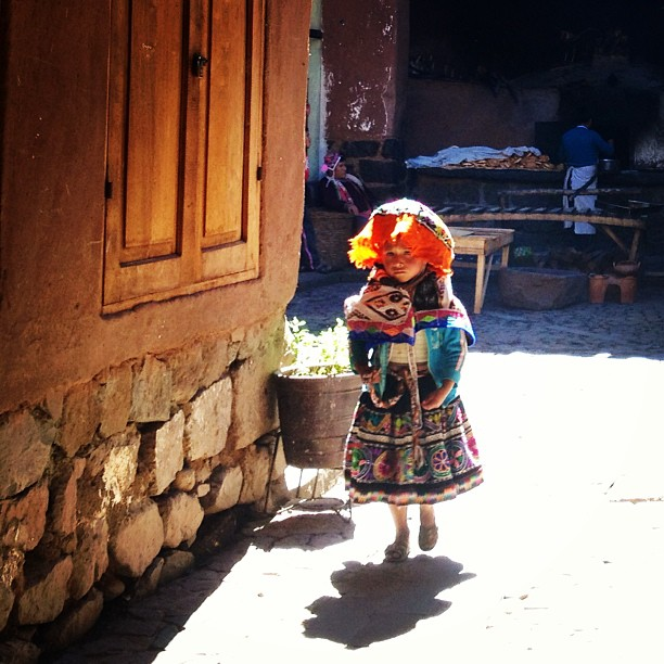 danicoronaphotography :     Quechua girl in traditional wear.