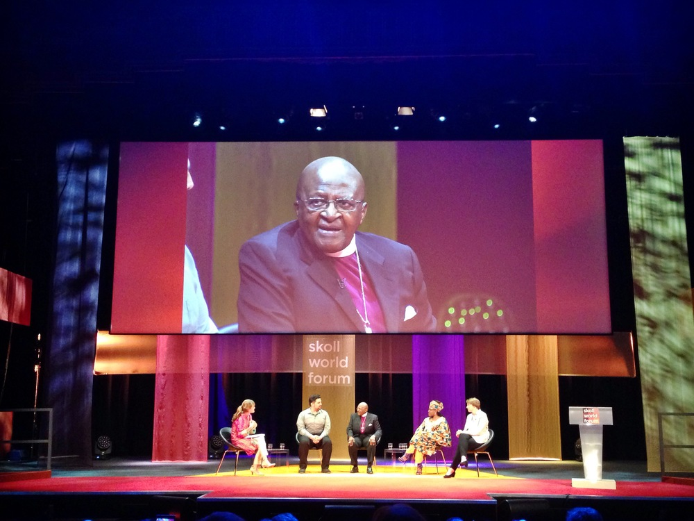 We attended the 2015 Skoll World Forum, a prestigious social enterprise conference hosted each year at the University of Oxford. This year's theme was Belief. We really enjoyed meeting Dr. Paul Farmer and Ophelia Dahl, cofounders of Partners in Health, and Jacqueline Novograts, founder of Acumen. Photo published: April 16, 2015.