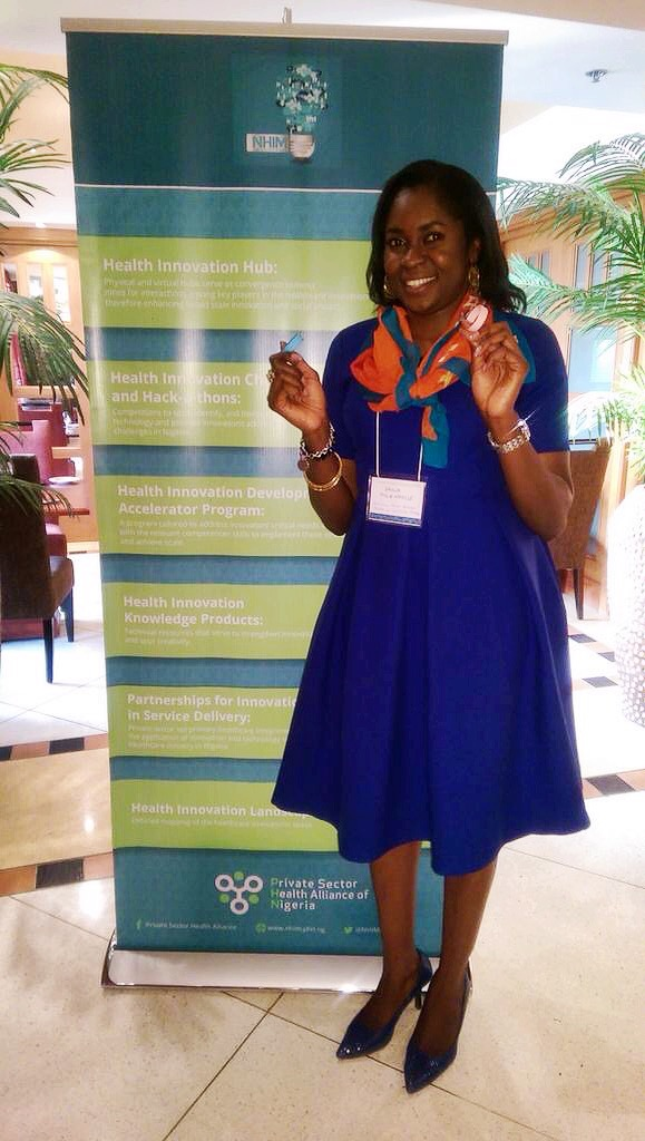 This week Shola Molemodile of Direct Consulting and Logistics, LLC represented the Alma Sana Nigeria team as a finalist in the Healthcare Innovation Award by the   Private Sector Health Alliance  ! She did an excellent job, and we're proud to have her on our team. Stay tuned to see how we did in the competition! Photo taken: August 30, 2015.