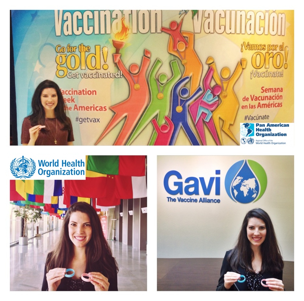 Last week our founder Lauren presented our Phase I results and next steps to senior staff at   Gavi, the Vaccine Alliance  ,   World Health Organization (WHO)  ,   International Federation of Red Cross and Red Crescent Societies  , and   PAHO-WHO  . We are so proud and grateful to have their strong support, which is key to scaling up and saving more lives!   ‪#‎vaccineswork‬  Photo posted: April 26, 2016.