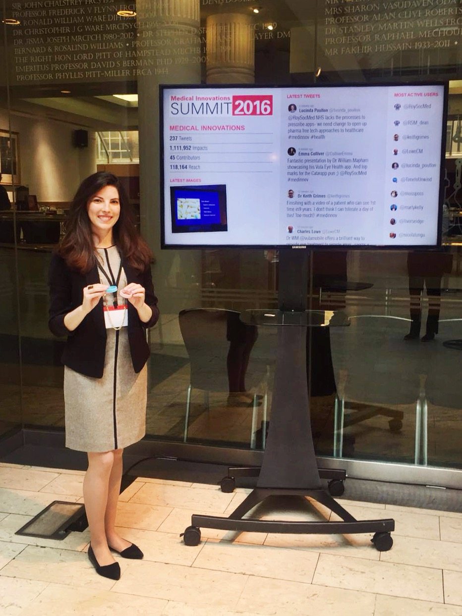 We were honored to present our award-winning, end user-designed vaccine reminder bracelet at the   Royal Society of Medicine  's 12th Medical Innovations Summit in London over the weekend!   ‪#‎medinnov‬  Photo posted: April 18, 2016.