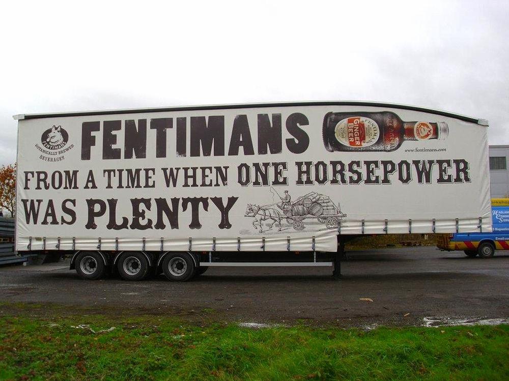 Fentimans Truck side