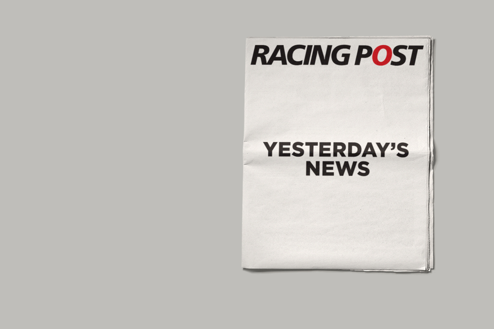 Racing Post Cover Wrap