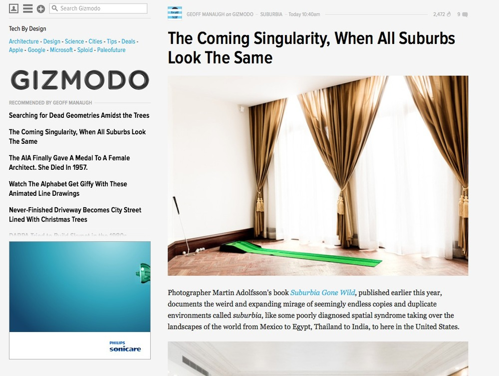 Interview by Geoff Manaugh, Editor-in-Chief at Gizmodo, ready the full interview  here