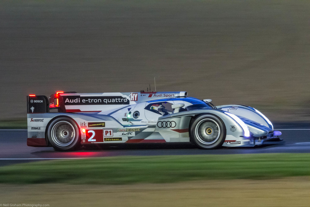 The winning number 2 Audi LMP1 at Le Mans 2013.  Click on the image to view more audi photographs.
