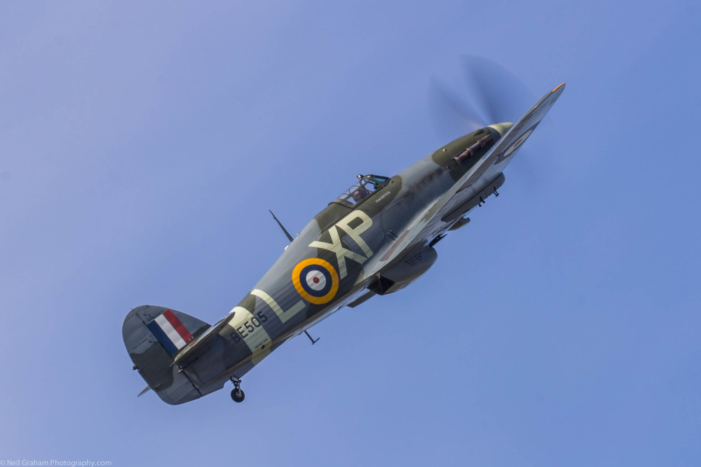Hawker Hurricane. Click on the image to view more