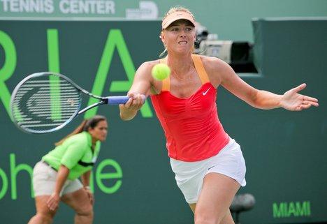Maria Sharapova in Miami