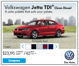 This VW ad's arrows work in the live version (this is a screenshot), but how would you feel if they didn't?