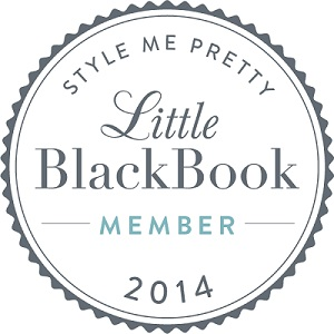 Big Events Wedding is happy to hang their hat on this one!   We are now a proud  member of Style Me Pretty's Little Black Book!