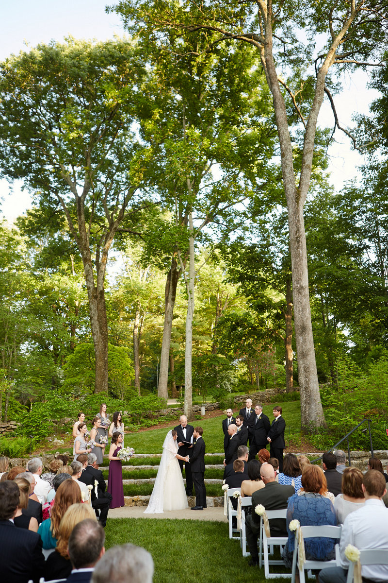 Anderson Cheekwood Botanical Garden Big Events Wedding