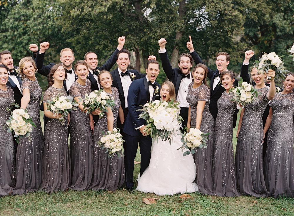 Belle Meade Country Club Wedding: Scarritt-Bennett. Full-Service Wedding Planning By Big Events Wedding.