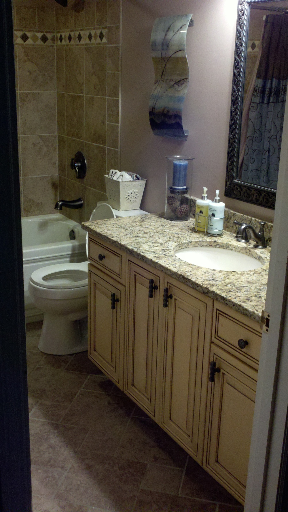 Batavia Bathroom Custom Vanity
